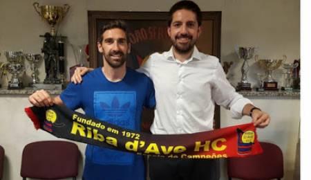 Hugo Azevedo ex AD Valongo reforça Riba d'Ave