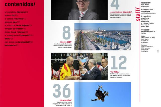Federação Espanhola aposta em revista