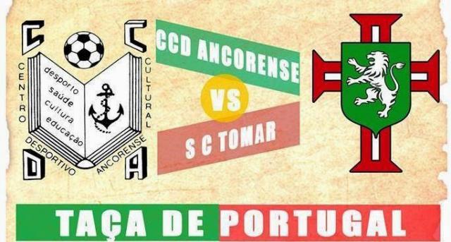 Taça de Portugal - CCD Ancorense quer continuar a fazer historia.