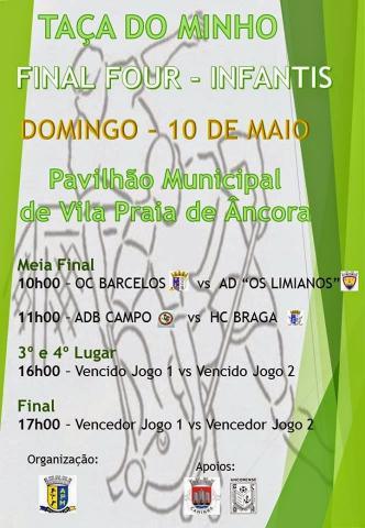 AP MINHO - Final Four de Infantis é em Vila Praia de Ancora