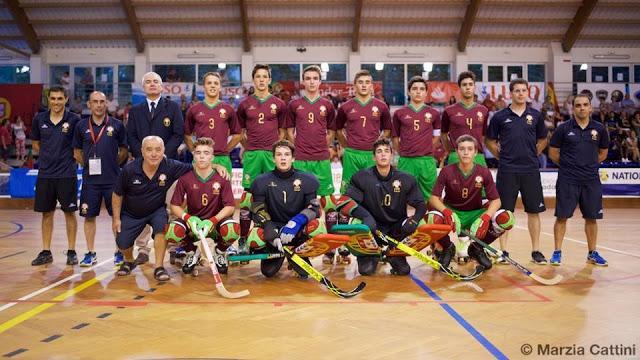 Europeu de sub 17 - Portugal personalizado derrota Itália