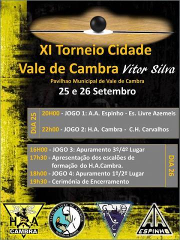 XI TORNEIO CIDADE VALE DE CAMBRA – VÍTOR SILVA