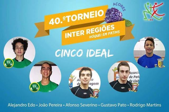 Minhoto Rodrigo Martins no cinco ideal do 40º Torneio Inter Regiões