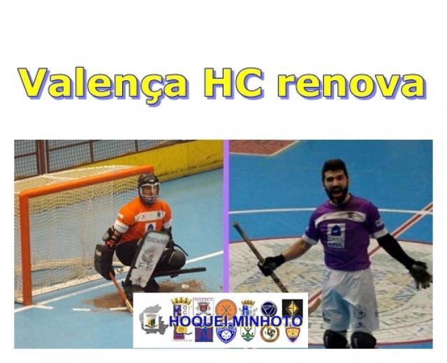 Valença HC - Paulo Matos e Hélder Martins renovam