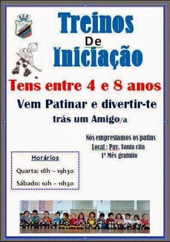 TREINOS DE INICIAÇÃO EM SANTA CITA