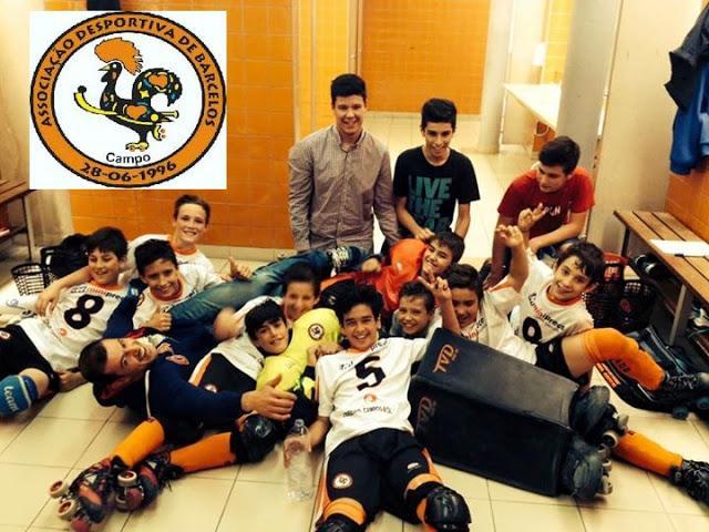 Infantis da ADB Campo recebem Benfica e HC Turquel