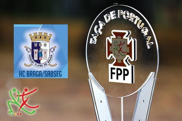 Taça de Portugal - HC Braga passa em Espinho
