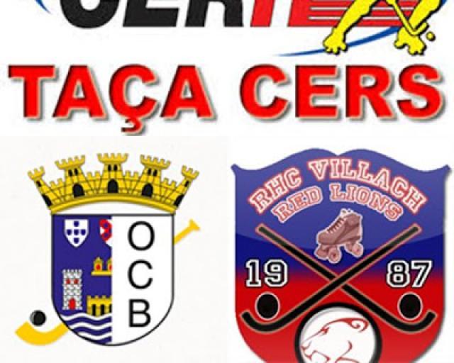Taça Cers - Jogo OC Barcelos - Villach não se realiza