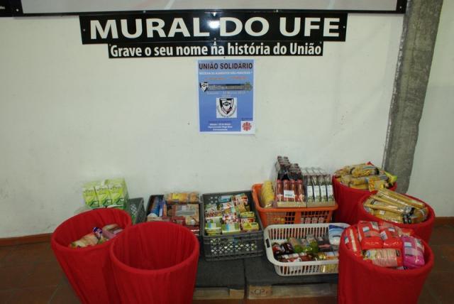 União Solidário: Recolha de Alimentos