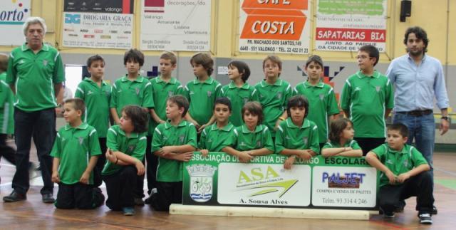 Torneio da Feira: Valongo vence em escolares