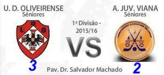 I Divisão - Juventude de Viana perde em Oliveira de Azemeis.
