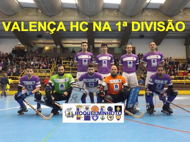 VALENÇA HC sobe à 1ª divisão nacional