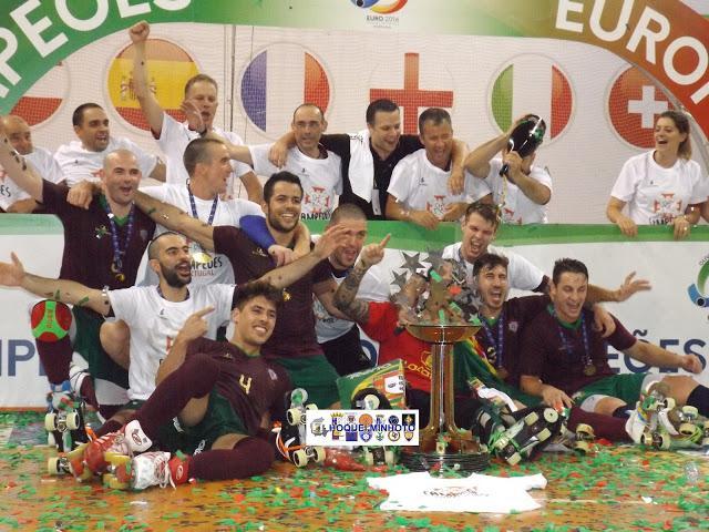 PORTUGAL CONQUISTA 52º EUROPEU