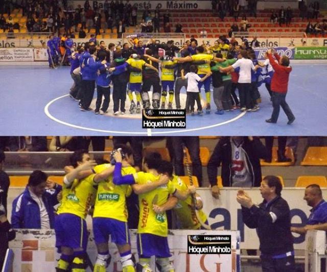 III D - OC Barcelos B sobe à segunda divisão nacional e junta titulo de campeão da zona norte.