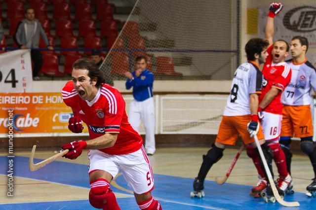 Benfica vence batalha frente à Oliveirense